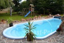 Gfk Schwimmbecken 7,00x3,20x1,50 Pool Einbaubecken Swimming Pool Fertigbecken