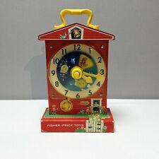 Ancien jouet Fisher Price de 1964 'Teaching clock'