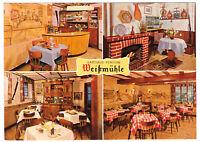 """tour. Prospekt, Cochem, Gasthaus - Pension """"Weißmühle"""", um 1970"""