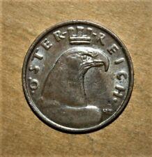 Austria 100 Kronen 1923 Almost Uncirculated Bronze Coin *** Key Date