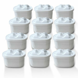 12x Wasserfilter Marke Delfin-Filter kompatibel mit Brita Maxtra Plus Kartusche