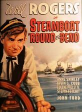 DVD Steamboat Round the Bend: Will Rogers Anne Shirley Stepin Fetchit Irvin Cobb