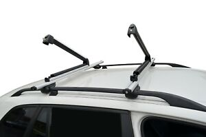 Alloy Fishing Rods Carrier Holder Roof Rack Lockable Adjustable Universal 56cm