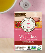 Traditional Medicinals Weightless Cranberry detox weightloss organic tea