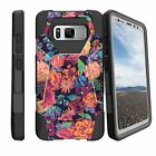 For Samsung Galaxy Note 8 SM-N950 Shockproof Dual Layer Bumper Cover - Camo
