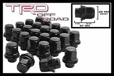 "20 Pc Lexus 12x1.5 Lug Nuts Mag Seat Black OEM Stock Factory Wheels 1.45"" Tall"