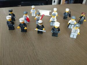 Lot personnages Lego City