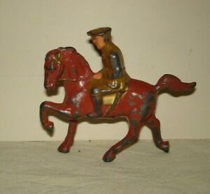 Manoil, Barclay,  officer on horse, 1940's, very good