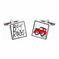 Red BOY Racer gemelli da Sonia Spencer, articoli da regalo in Scatola, RRP £ 20