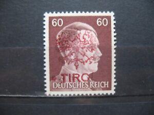 Österreich Austria 1945 Lokalausgaben Local Tirol 60pf