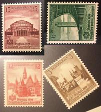 Germany 1938 third reich 486-489 MNH very fine