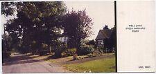Stock Harvard, Essex, England Limited Edition 1 of 1000 Postcard - Well Lane