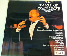 "The World of JOSEF LOCKE today 12"" Vinyl Record 1969 How Can You Buy Killarney?"