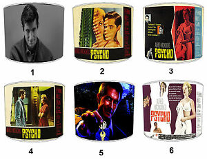 Psycho Wall Art Films Movies Posters Lampshades, Fits Ceiling Lights Table Lamps