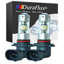 DuraFlux 150W H10 9145 High Power LED OSRAM 6K Super White Fog Light Bulb 2200LM