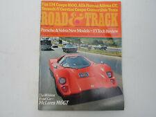 ROAD & TRACK MAGAZINE DECEMBER 1974 FIAT 124 COUPE 1800, ALFA ROMEO ALFETTA GT