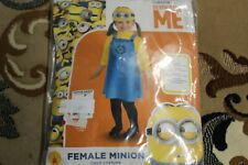 Rubies Toddler/Enfant Despicable Me dress Halloween Costume size 2-4