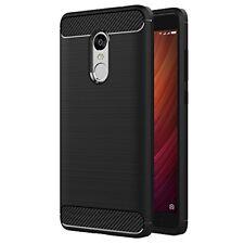 Étuis, housses et coques noirs Xiaomi en silicone, caoutchouc, gel pour téléphone mobile et assistant personnel (PDA)