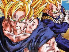 Poster A3 Dragon Ball Goku Vegeta 02