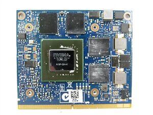 Dell G4FN0 Precision M4800 M6800 NVIDIA Quadro K2100M 2GB Video Card