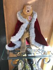 """19� Franklin Mint Bert Lahr """"The Cowardly Lion """" In The Wizard Of Oz"""