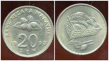 MALAISIE 20 sen 1993 ( bis )