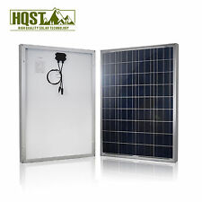 HQST 100Watt 100W Home Solar Panel 12V Poly Off Grid Battery Charger for RV Boat