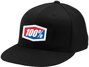 100% Essential Fitted Hats Cap Motorcycle Dirt Bike