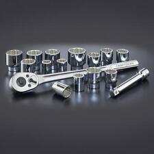 Craftsman 16 Piece SAE (Inch) 3/4 Inch Drive Socket Wrench Set w/ Case