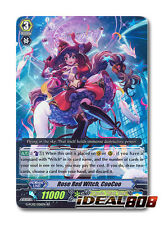 Cardfight Vanguard  x 4 Rose Red Witch, CooCoo - G-FC02/026EN - RR Mint