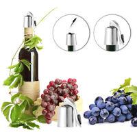 Bouteille de vin rouge bouchon vide scellé chaud en acier inox réutilisable