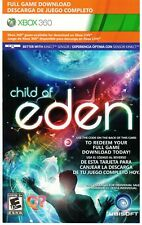 FULL XBOX 360 GAME DOWNLOAD CODE - CHILD OF EDEN - FREE SAME DAY DELIVERY