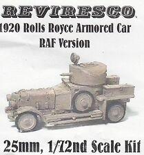 Rolls Royce Panzerwagen 1920 - Royal Air Force Version - Zinnbausatz 1:72