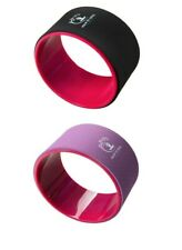 YOGA WHEEL Exercise Fitness Pilates Ring Stretch Roller Stretching Back Workout