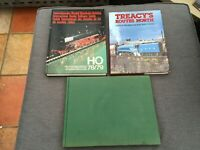 The Illustrated History Of British Trains and  other rail enthusiast book bundle