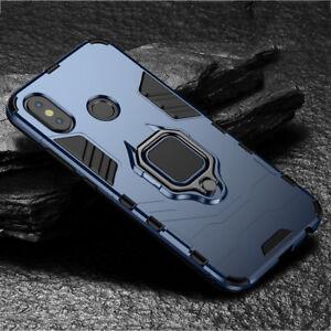 Shockproof Hybrid Bumper Case for Huawei Mate 20 Pro/Y9 2019 Ring Holder Cover