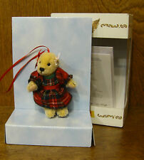 STEIFF #667770 MUFFY ORNAMENT, NEW in Box/Tag From Retail Store, Mohair