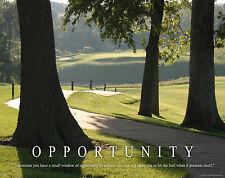 Opportunity Basketball Motivational Poster Print Classroom Kids Room 100/% MVP611