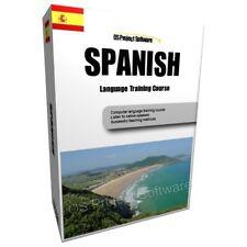 LEARN TO SPEAK EUROPEAN SPANISH LANGUAGE TRAINING COURSE PC DVD NEW