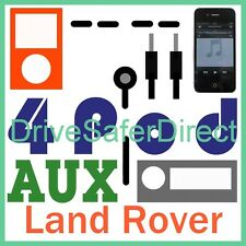 4Pod-3600-AS-r iPod AUX Adaptor for iPhone/MP3 Land Rover Discovery 3