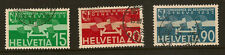 SWITZERLAND : 1932 Disarmament Conference Air set SG 344-6  fine used
