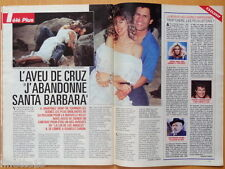 A. MARTINEZ CRUZ SANTA BARBARA Coupure de presse 2 pages 1992 – French Clippings