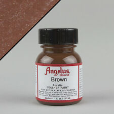 Angelus Leather Acrylic Paint 1oz Bottle - Plenty Of Colours - Water Resistant