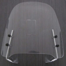 Gy6 Scooter Moped Dirt Bike Motorcycle Windshield Screen For Yamaha Honda Clear