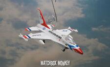 USAF Thunderbirds F-16 Falcon Christmas Ornament Top Gun Airplane Jet Aircraft