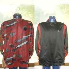Men Nike Michael Jordan Jacket Coat AF 1 Red Black Sz L or XL