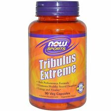 NOW Foods TRIBULUS EXTREME Testosterone Booster - 90 caps MACA, HORNY GOAT WEED