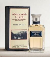 ABERCROMBIE & FITCH WOODS Cologne 1.7 oz / 50 ml Spray Men Sealed 100% Authentic
