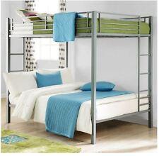 Bunk Beds For Kids Full Size Bunked Bed Frame Loft Girls Boys Bedroom Furniture