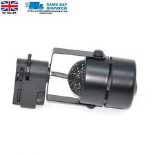 Gu10 Lamp Holder 2 Wire LED Track Light downlight Lighting black Case UK seller